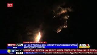 Puluhan Hektar Lahan di Gunung Kelir Terbakar