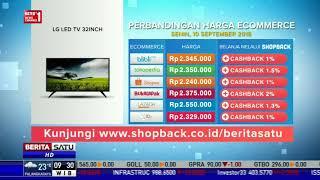 Perbandingan Harga E-Commerce: LG LED TV 32 Inch