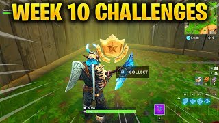 FORTNITE WEEK 2 CHALLENGES LEAKED! WEEK 2 GUIDE TO ALL