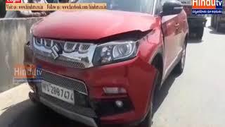 Godavarikhani antargam SI  Road accident . //  HINDUTV LIVE  //
