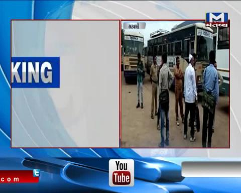 In Arvali Bus routes have been shut due to Bharat Bandh
