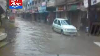 કેશોદ-મુખ્ય બજારમાં પાણી ભરાતા વેપારીઓમાં રોસ
