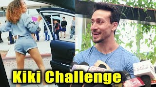 Tiger Shroff Talk On Viral Kiki Challenge