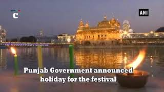 Golden Temple lights up on Parkash Utsav of Guru Granth Sahib