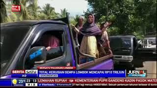 Kerusakan Akibat Gempa Lombok Capai Rp 10 Triliun