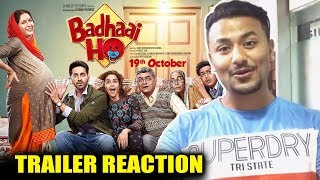 Badhaai Ho TRAILER | REVIEW | REACTION | Ayushmann Khurrana, Sanya Malhotra