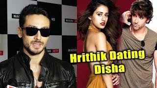 Tiger Shroff REACTION On Hrithik Roshan And Disha's Dating Rumour