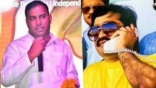 आजम खान का विरोध करने पर अमित जानी को दाऊद के गुर्गों ने दी जान से मारने की धमकी,ऑडियो वायरल