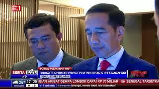 Jokowi Luncurkan Portal Pelayanan dan Perlindungan WNI