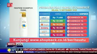 Perbandingan Harga E-Commerce: Pantene Shampoo 750 ML