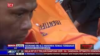 Ruko di Makassar Terbakar, Ibu dan 2 Anaknya Tewas Terbakar