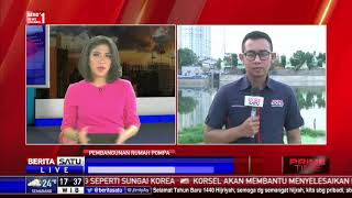 Atasi Banjir, Pemkot Jakbar Bangun 3 Rumah Pompa di Cengkareng