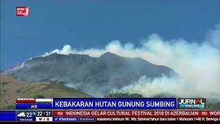 541 Pendaki di Lereng Gunung Sindoro dan Sumbing Dievakuasi