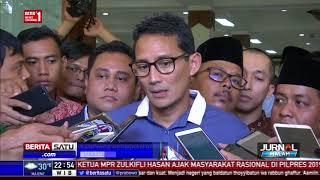 Sandi Resmikan Komunitas Indonesia Tersenyum Usung Demokrasi Sejuk