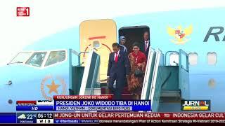 Tiba di Vietnam, Jokowi dan Iriana Disambut Meriah oleh WNI
