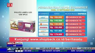 Perbandingan Harga E-Commerce: Philips Lampu Led 13W 4PCS