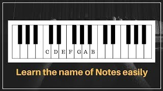 Learn Name of Notes on Keyboard easily | Piano | Casio | Harmonium | in  Hindi | Lesson 2018 | video - id 371d969e7436c0 - Veblr Mobile