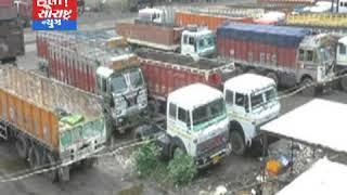 મોરબી-ટ્રકની દેશ વ્યાપી હડતાળથી સીરામીક ઉદ્યોગને મોટો ફટકો