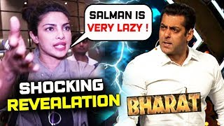 Priyanka Chopra Left BHARAT Because Of Salman's Bad Habit?