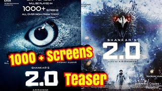2PointO Teaser To Be Played In Over 1000 Screens In India From TODAY