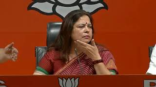 AAP's discrepancies in the party's contribution report unveiled by EC: Smt. Meenakshi Lekhi