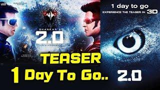 Robot 2.0 Teaser In 3D | 2.0 | 1 Day To Go | Akshay Kumar, Rajnikanth