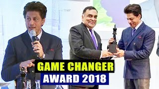 Shahrukh Khan Felicitated As The GAME CHANGER At The India UK Business Summit