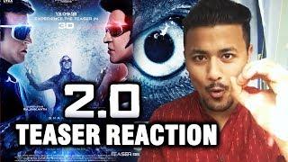 2.0 Teaser REACTION | REVIEW In Hindi | Akshay Kumar | Rajnikanth | Robot 2.0