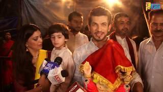Arjun Bijlani With Cute Son & Wife Bringing Ganpati Bappa Home - Ganeshotsav 2018