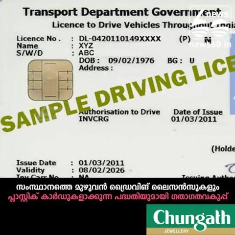 New type driving licence