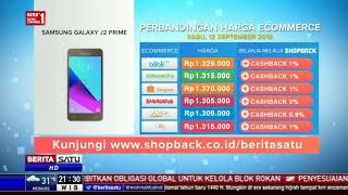Perbandingan Harga e-Commerce: Samsung Galaxy J2 Prime