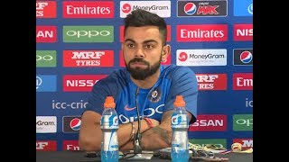 """Virat Kohli gets angry at Reporter asking """"Is this the best Indian Team in 15 Years"""""""