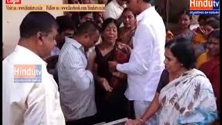 siddipeta pashusamvardhaka shakha assistent director anjayya died//HINDUTV LIVE//