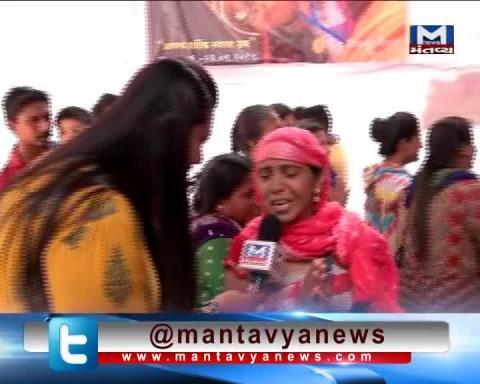 Devotees's Crowd in Ganesh Temple in Ahmedabad