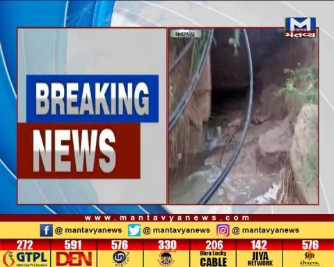 Narmada Canal Breached in Banaskantha