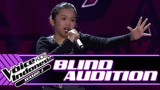 Diva - Roar | Blind Auditions | The Voice Kids Indonesia Season 3 GTV 2018