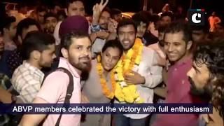 ABVP sweeps DUSU election 2018