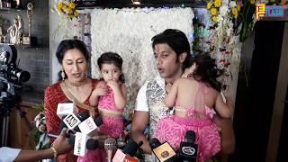 Karanvir Bohra & Teejay's Twin Daughters First Ganpati 2018 - Special Twins Ganpati