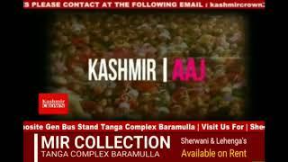 #Kashmir crown presents Top English News Headlines Of 13 September 2018 with Khusboo Jaan.