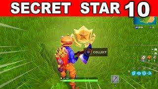 Watch Week 10 Secret Battle Star Location Analysis From Video