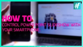 How To Control Power Point Slideshow With Your Smartphone in 5 Simple Steps