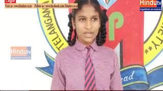 jagityala school students rally//HINDUTV LIVE//