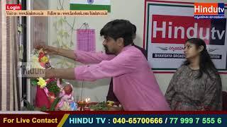 Hindutv main branch ganesh Chaturthi celebrations   //HINDUTV LIVE //