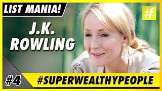J K Rowling | 5 Super Wealthy People We Want To Be Just Like