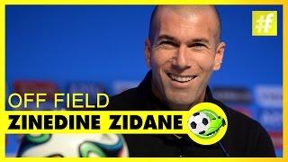 Zinedine Zidane Off Field Football Heroes