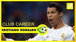 Cristiano Ronaldo Club Career | Football Heroes