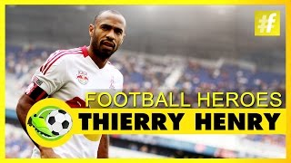Thierry Henry | Football Heroes | Full Documentary