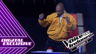 Emejing! Coach Marcell Digoyang | Coach Reaction #9 | The Voice Kids Indonesia Season 3 GTV 2018