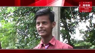 [ Mau ] मऊ में स्कूलीबच्चे नाले के पानी से निकलने पर विवस / THE NEWS INDIA