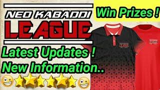 Neo Kabaddi League 2018 Updates || Win Prizes || By KabaddiGuru